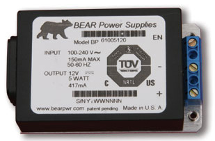 Rugged power supply for telecom equipment