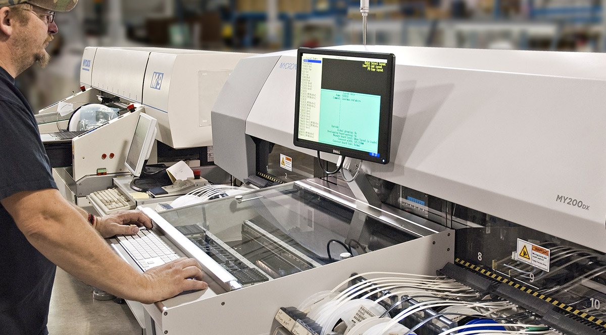 Photo - Manufacturing at Bear Power Supplies / Z-AXIS